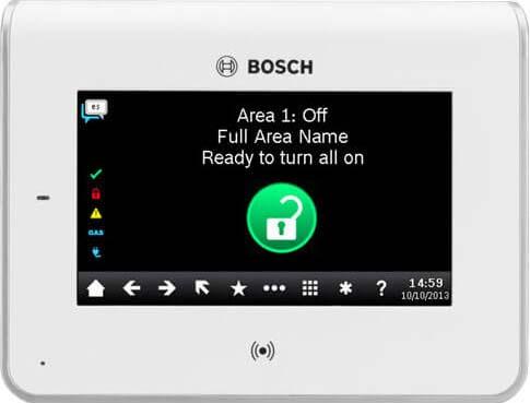 bosch keypad